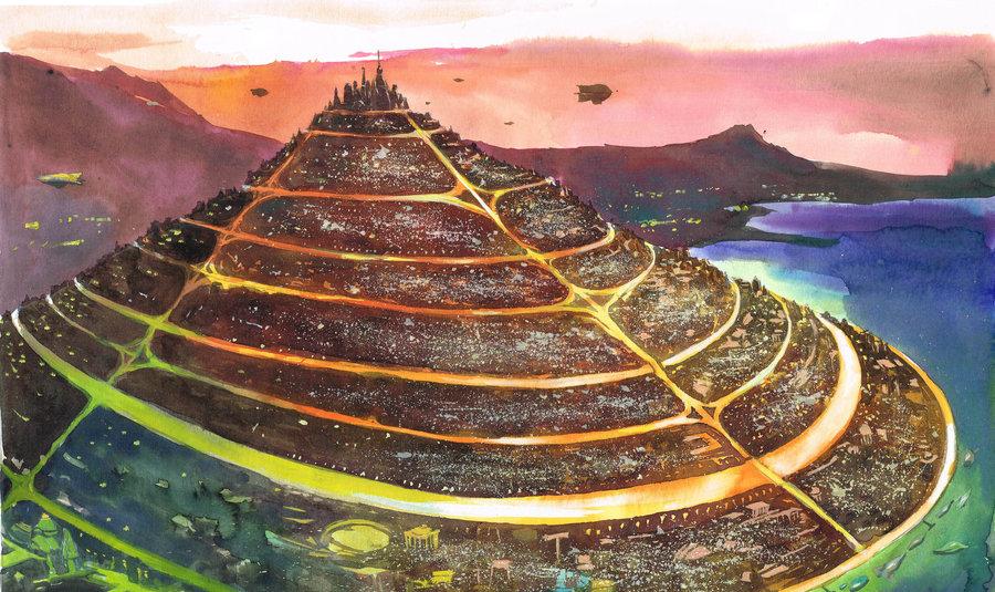 Hlavní město Atlantis.