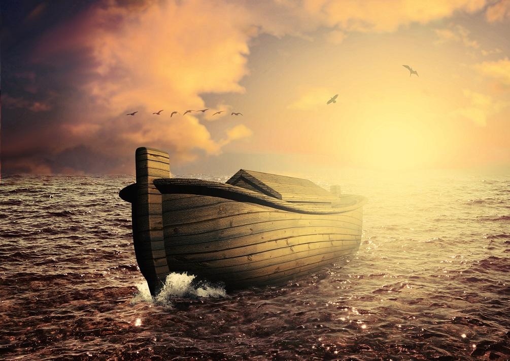 Noemova archa se objevuje v kapitolách 6 až 9 v knize Genesis.