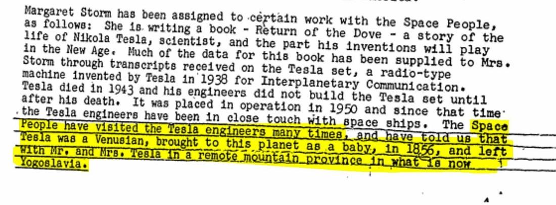Pocházel Nikola Tesla z Venuše? Šílená teorie o které se zmiňují archivy FBI.