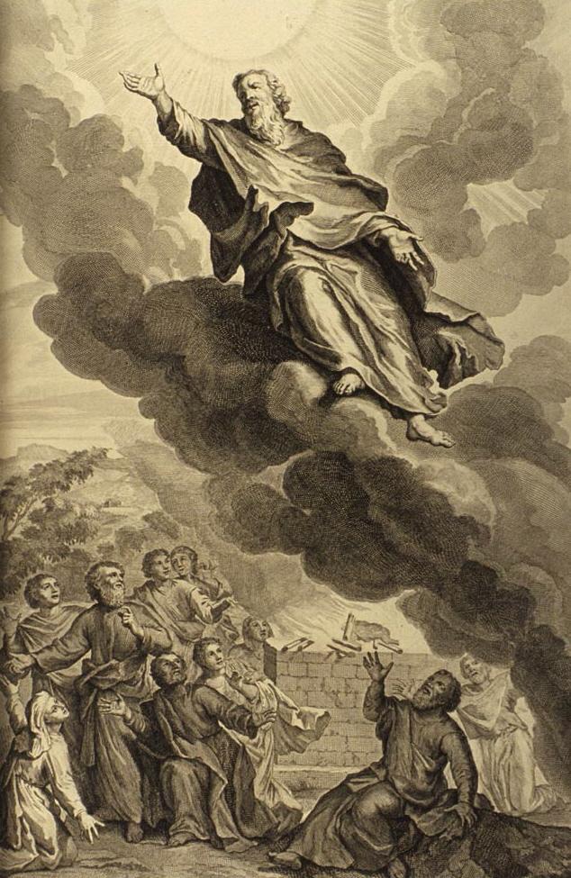 Bůh beroucí Henocha.